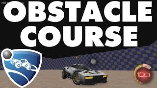 Rocket League | Obstacle Course Freestyling!