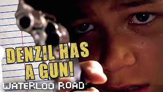 Download Denzel Fires A Gun In School | Waterloo Road Throwback Thursdays Mp3 and Videos