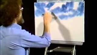 Bob Ross - Malerei der Himmel - Malerei Video