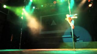 Mandy Fragkiadaki - Greek Pole Dance Championship 2014 Women's Runner Up