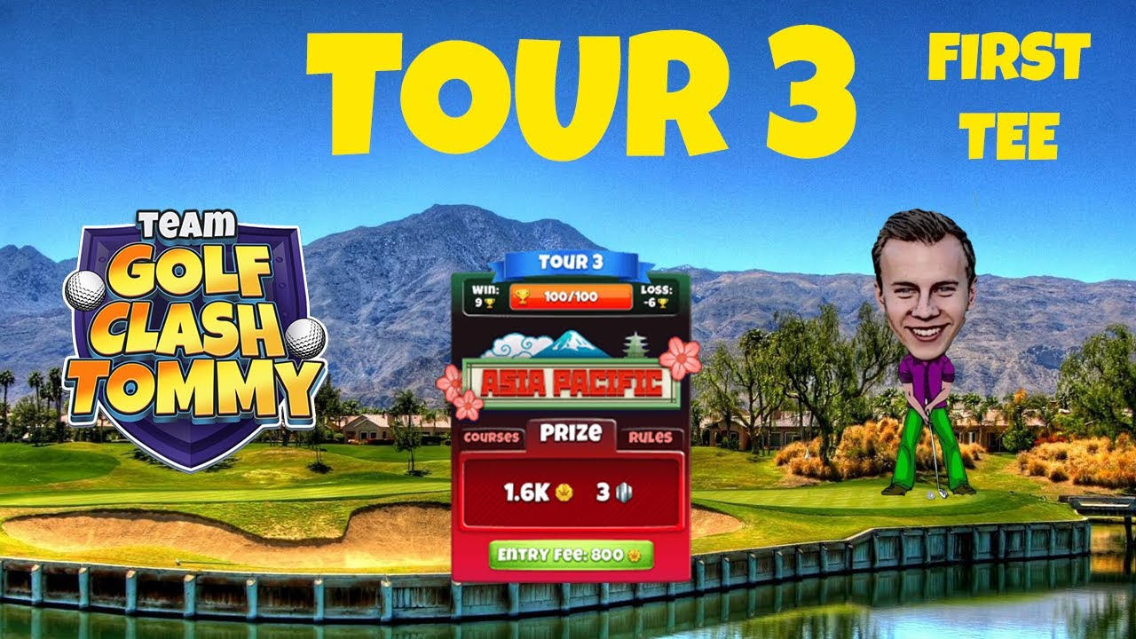 Golf Clash tips, Hole 9 - Par 5, Sakura Hills - Fuji Open Tournament - ROOKIE Guide