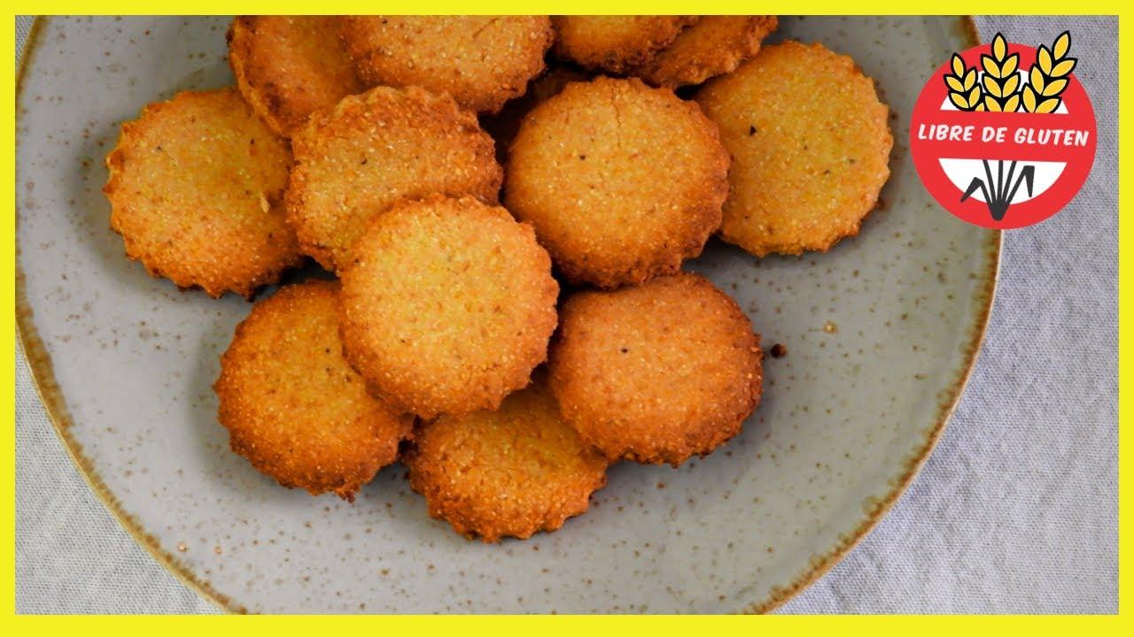 GALLETITAS de POLENTA sin TACC, sin manteca y sin huevos (con miel)