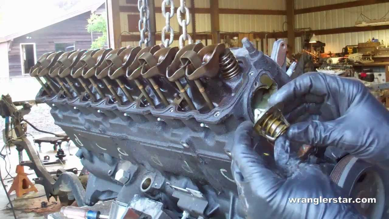 how to rebuild a jeep engine part