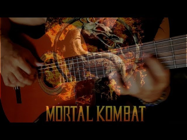 Mortal Kombat on Classical Guitar | EXCELLENT REMAKE by Luciano Renan