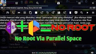 No Root Via Parallel Space -GameGuardian