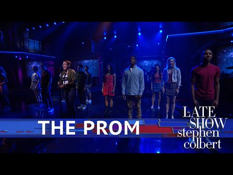 iHeartRadio Broadway - 'The Prom' Performs 'Unruly Heart' On 'The Late Show With Stephen Colbert'