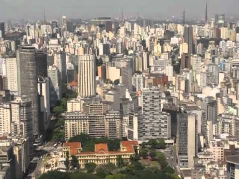 helicopter flight over Sao Paulo