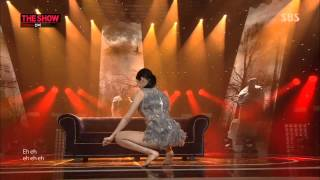140226 Sunmi Feat  Lena   Full Moon @ SBS The Show All About K pop Comeback Stage 1080P