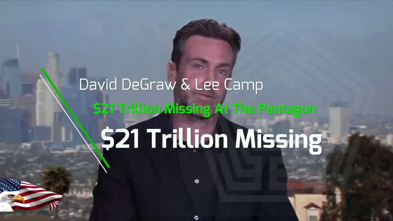Image result for Lee Camp pentagon loses trillions