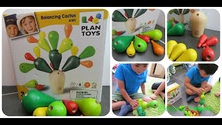 Balancing Cactus Game By Plan Toys