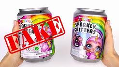 Faux Vs Vrai | Poopsie Slime Surprise Sparkly Critters | Comment Repérer les Copies ?