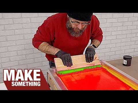Getting Started In Screen Printing. How It Works And What You Need!