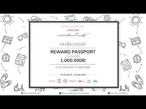 Spring Summer 2018 - Wanderlust - Reward Passport