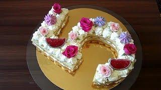 Испекла торт моей принцессе на День Рождения. Торт