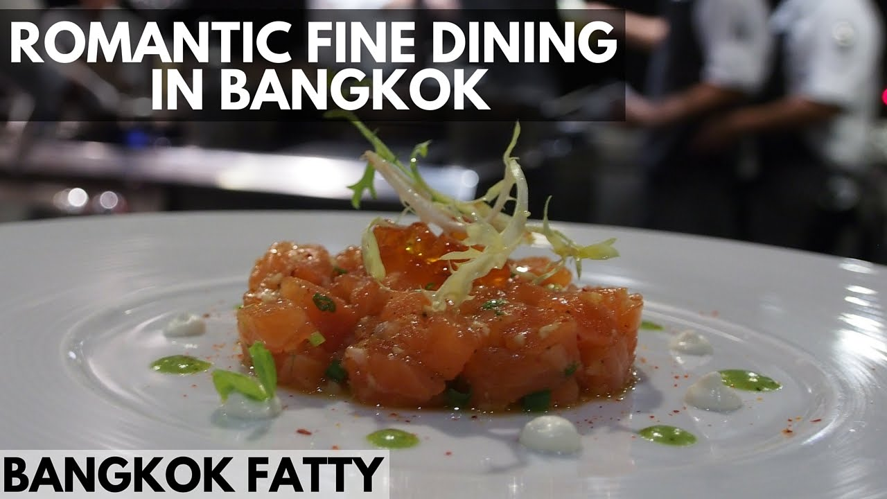 Bangkok Dinner Vlog Romantic French Fine Dining For