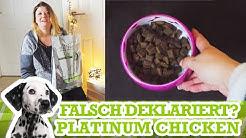 Was ist drin? Platinum Adult Chicken - Hundefutter Deklaration & Inhaltsstoffe verstehen lernen