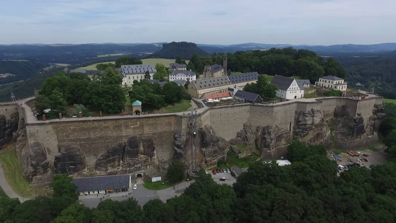k nigstein fortress festung saxon bastille youtube. Black Bedroom Furniture Sets. Home Design Ideas