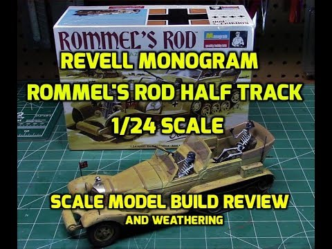 revell-monogram-rommel's-rod-half-track-1/24-scale-model-kit-build-review-85-4484