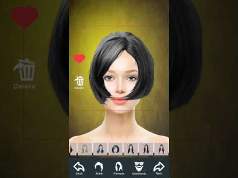 Hairstyle Changer App Virtual Makeover Women Men Apps On Google Play