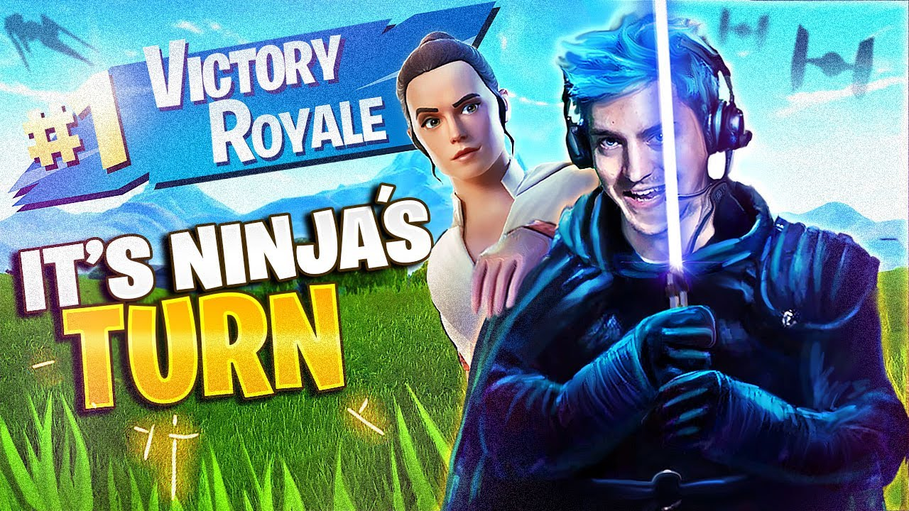 IT'S MY TURN TO USE THE LIGHTSABERS! - Fortnite Battle Royale thumbnail