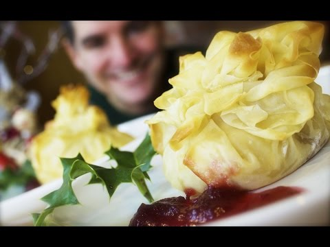 Camembert & Cranberry Parcels: A Simple Stylish Starter