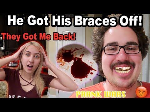 BROKE HIS TEETH PRANK!! (Logan's Revenge)