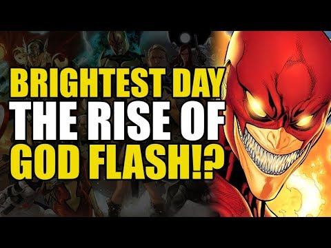 The Flash Becomes God Flash (Green Lantern Brightest Day)
