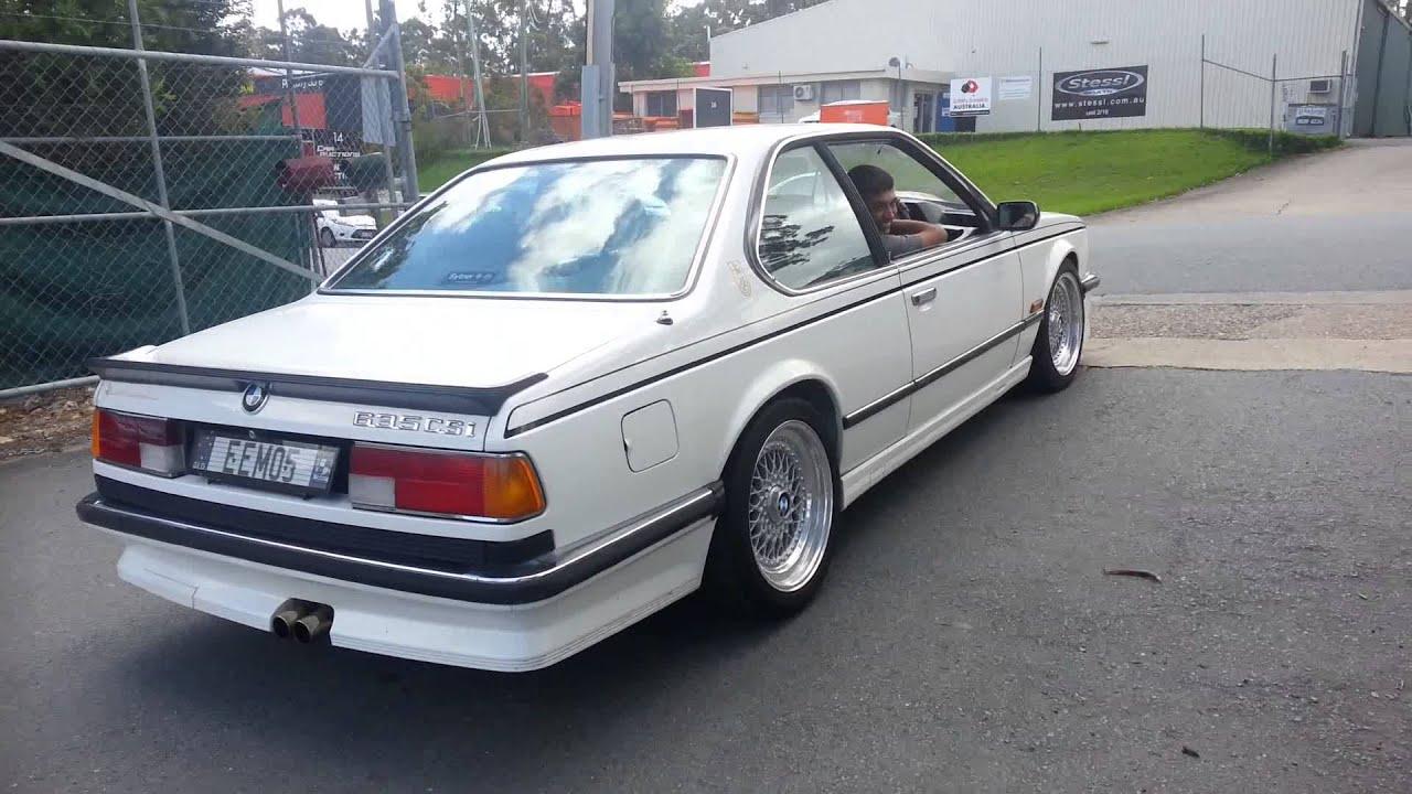 Bmw E24 635csi 1987 Youtube