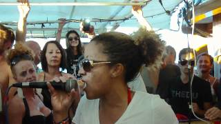 Suncebeat 2011 Picnic Boat Party - Joi Cardwell Sings