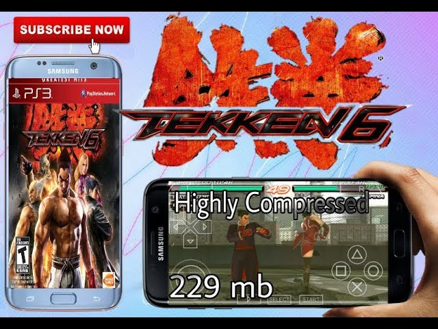 tekken 6 ppsspp highly compressed 20mb