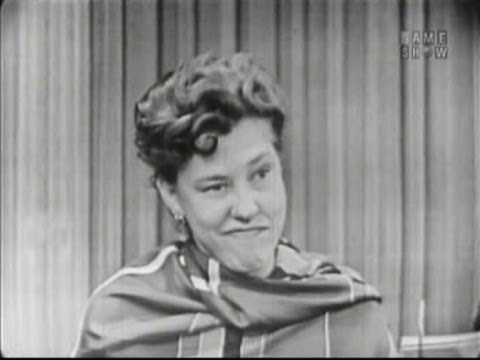 What's My Line?  Judy Canova Jul 18, 1954