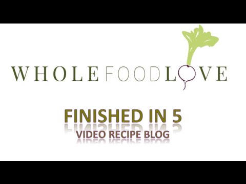 Whole Food Love- Raw Spinach Hummus Recipe