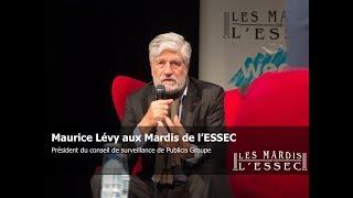 Maurice Lévy aux Mardis de l'ESSEC