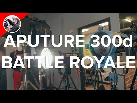 Comparing the Aputure 300d to