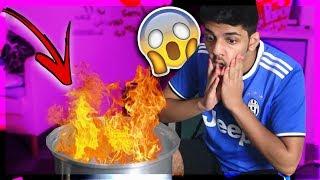 تحدي الطبخ مع حمان🍳..!!! (كنت بحرق المكان بالغلط😱💔)..!!