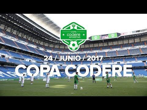 Copa Codere - Estadio Santiago Bernabéu - Codere Apuestas.