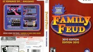Family Feud 2010 Edition Nintendo Wii game 1