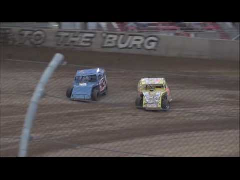 UMP Modified Heat #4 from Lawrenceburg Speedway, July 2nd, 2016.