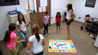 Happy Girls Play Fitivities - The Game That Moves You