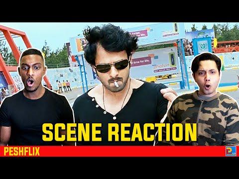 Rebel Interval Fight Scene Reaction   Prabhas   PESHFlix Entertainment