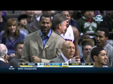 Jonas Jerebko dunks on Paul George, to Sheed
