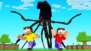 Defeating The MEGA KRAKEN In MINECRAFT!