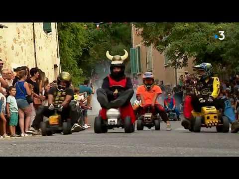Puyméras (84) : le retour de la folle course de tracteurs - - France 3 Provence-Alpes-Côte d'Azur