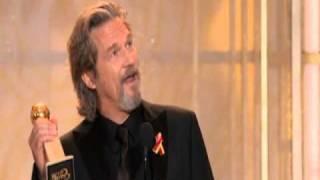 Jeff Bridges Wins Best Actor Motion Picture Drama - Golden Globes 2010