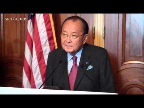 The late Senator Daniel Inouye (88) last speech to Jewish Group
