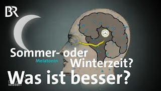 Zeitumstellung: Immer Sommerzeit oder Winterzeit - Was ist besser?| Gut zu wissen | BR