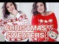 PLUS SIZE FASHION TRY ON HAUL   The Cutest/Ugliest Xmas Sweaters, Ever. BOOHOO PLUS   Sometimes Glam