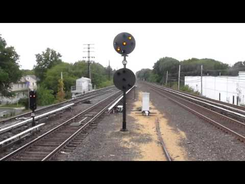 LIRR Train Dropping Signals at QUEENS Interlocking