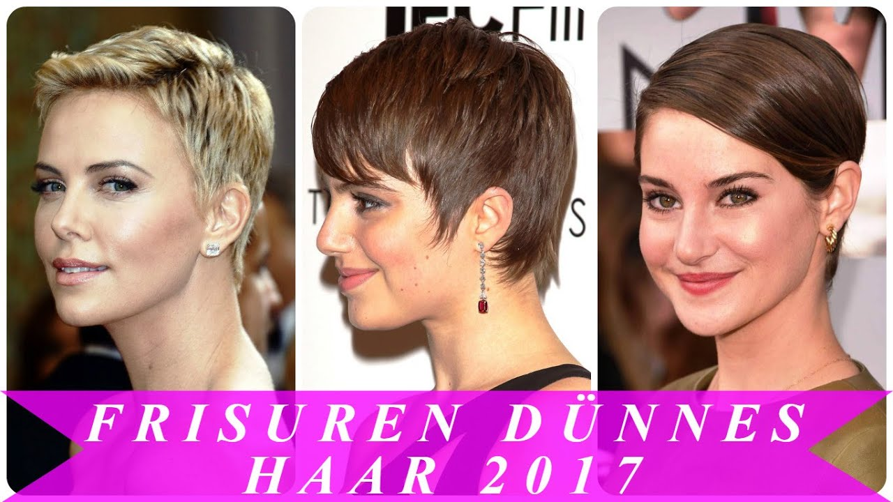 Frisuren Dünnes Haar 2017 YouTube