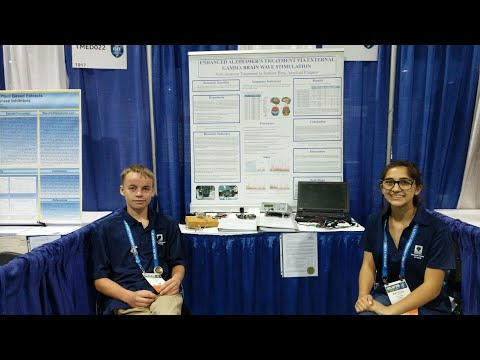Alzheimer's Research With Electronics and International Science Fair!